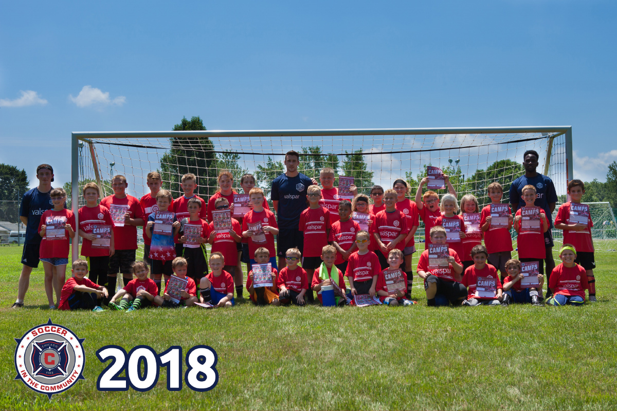 2018 Chicago Fire: Soccer in the Community Camp