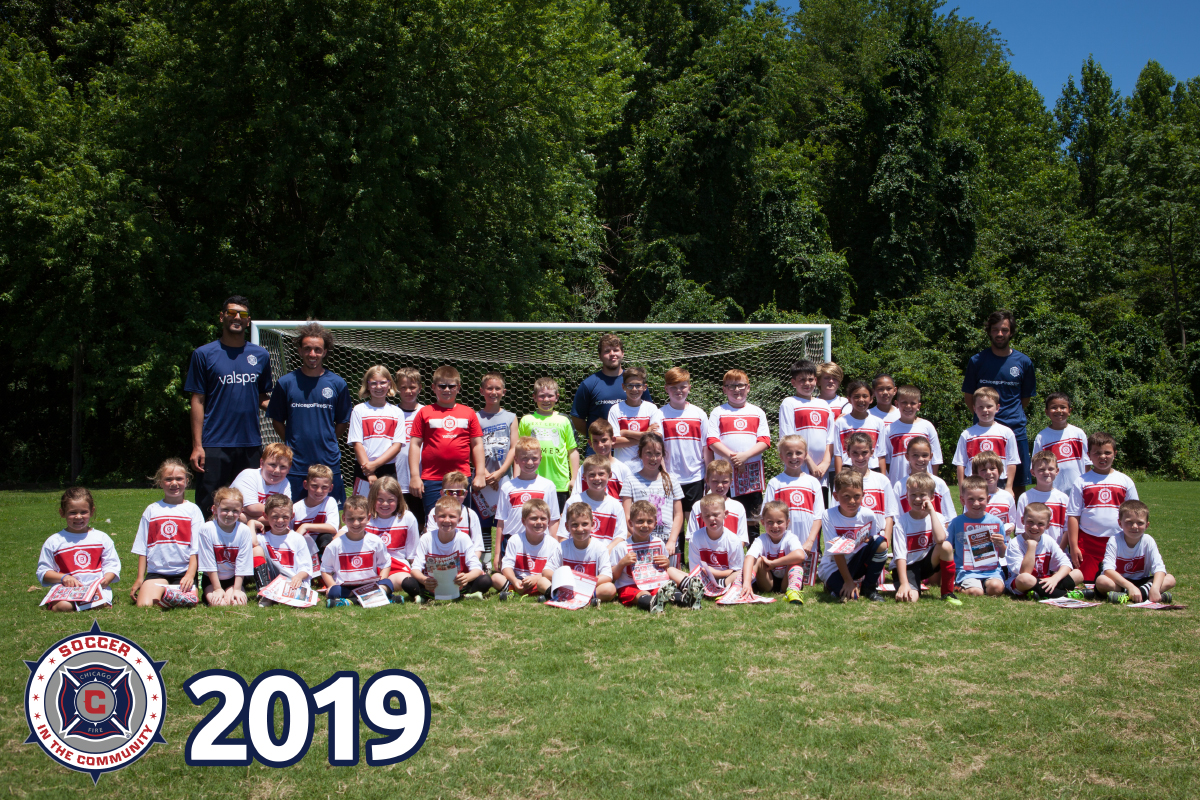 2019 Chicago Fire: Soccer in the Community Camp