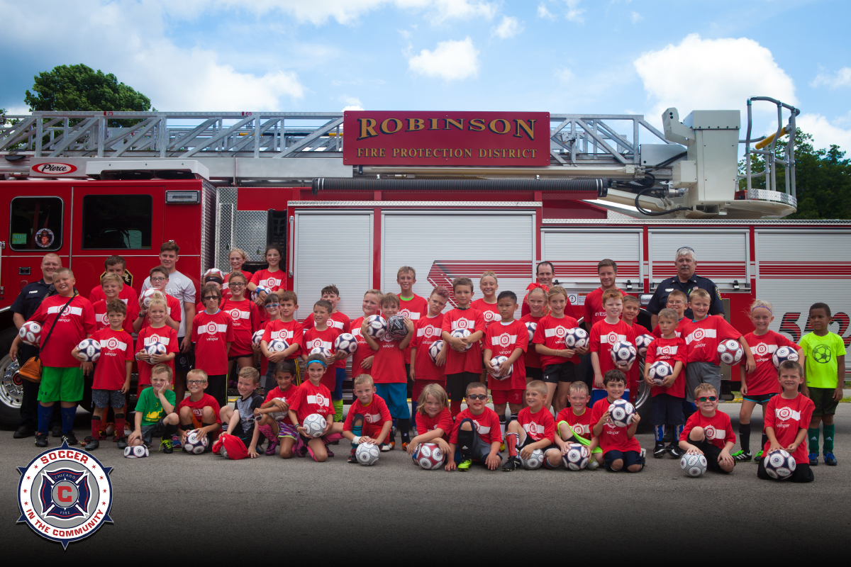 Chicago Fire - Soccer in the Community